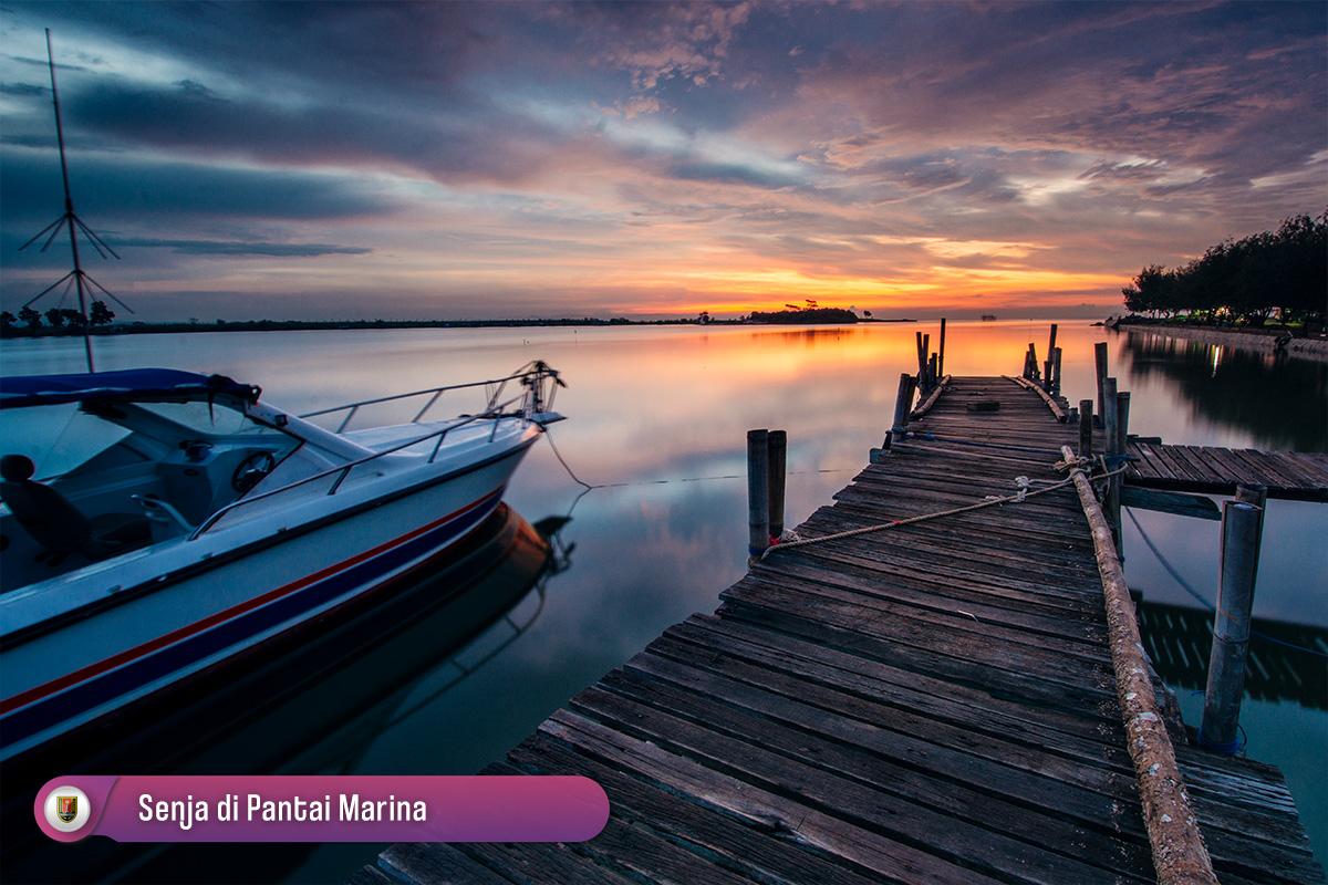 Senja Pantai Marina Semarang