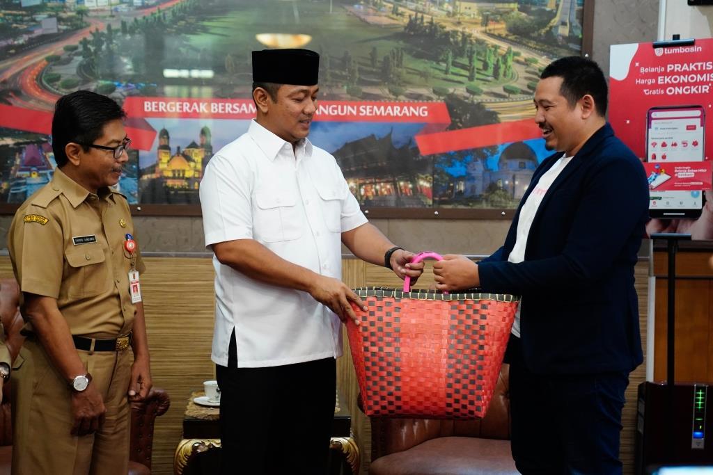 Pemkot Semarang Jalin Kerja Sama, Startup Bisnis Tumbasin